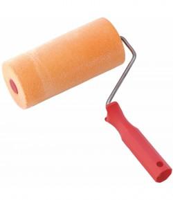 Porous sponge paint roller with velvet LT07304