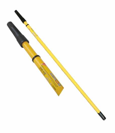 Telescopic handle for paint roller LT07620